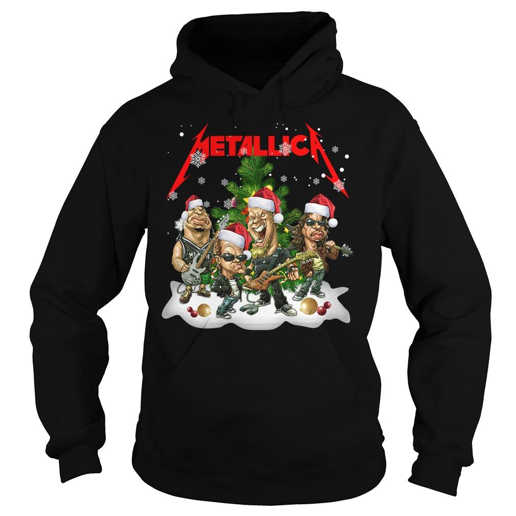 Official Metallica Christmas Shirt hoodie