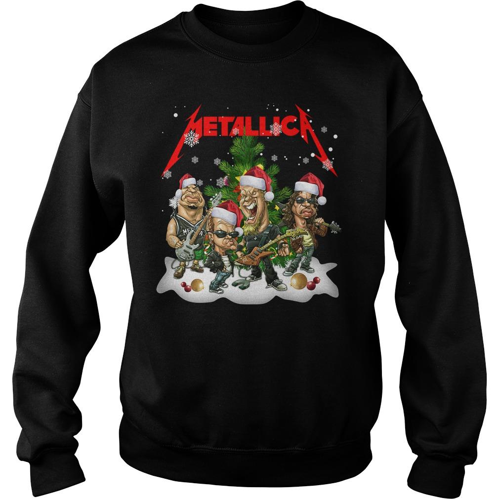 Official Metallica Christmas Shirt sweater