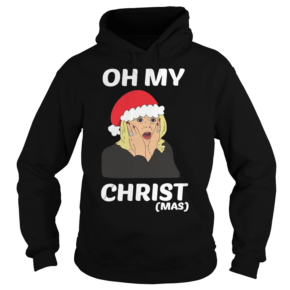Oh My Christ Christmas Shirt hoodie