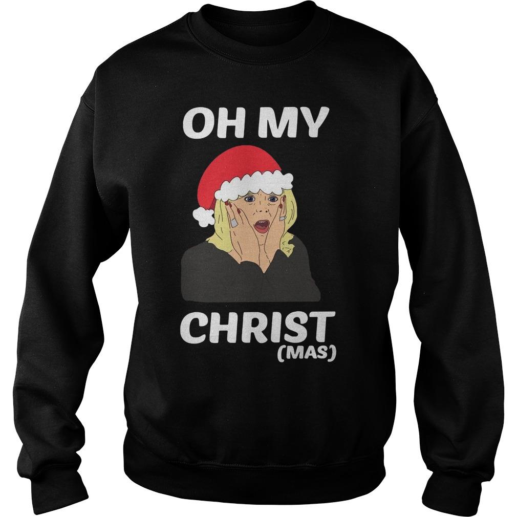 Oh My Christ Christmas Shirt sweater