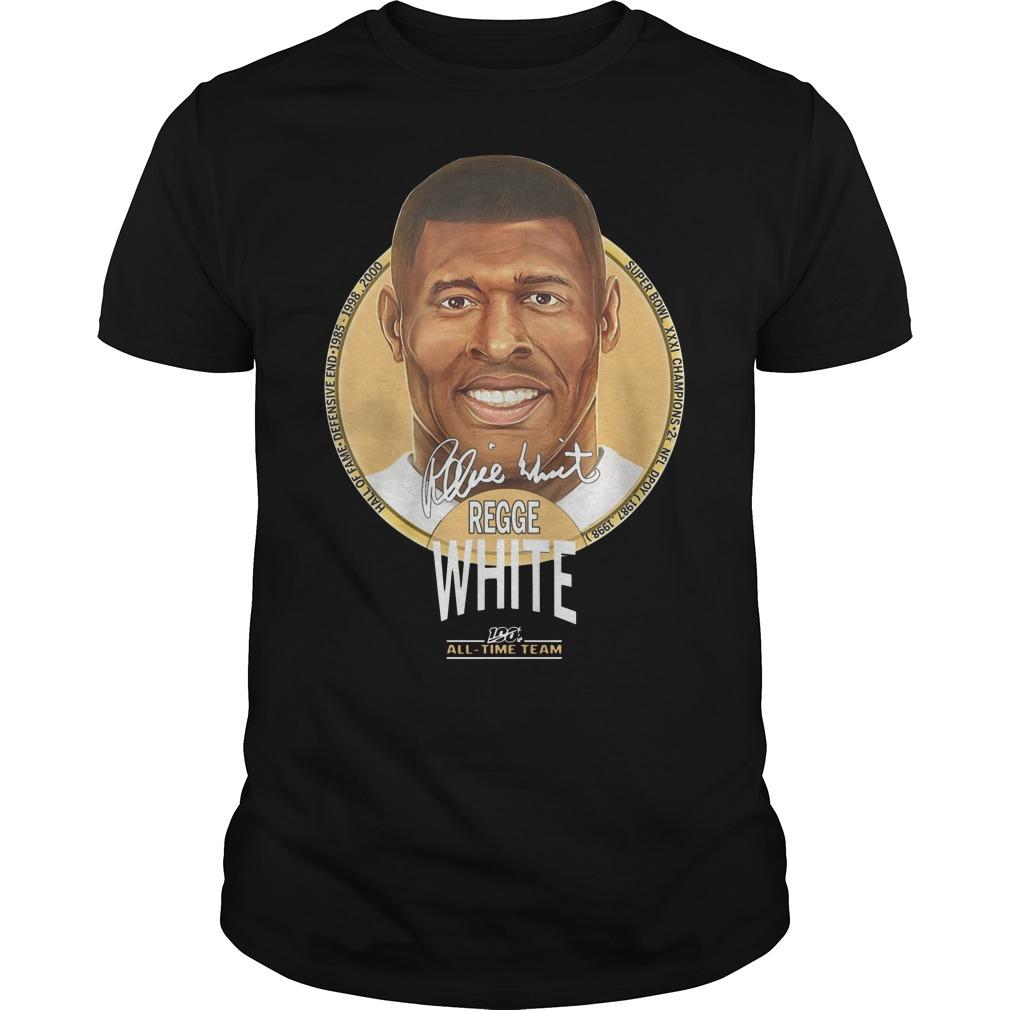 Super Bowl XXXI Champion Reggie White All Time Team Shirt