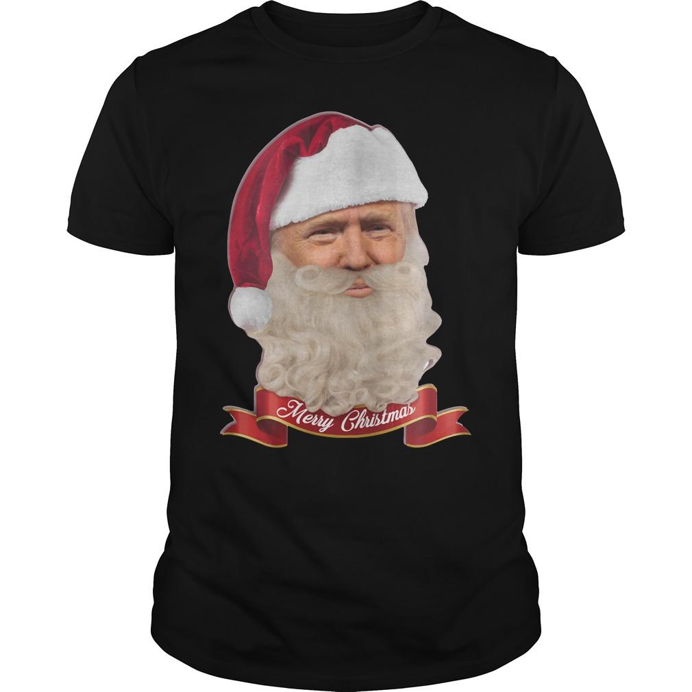 Trump Claus Merry Christmas Shirt