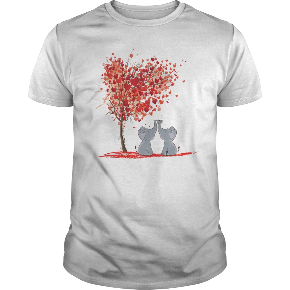 Elephant Valentine Shirt