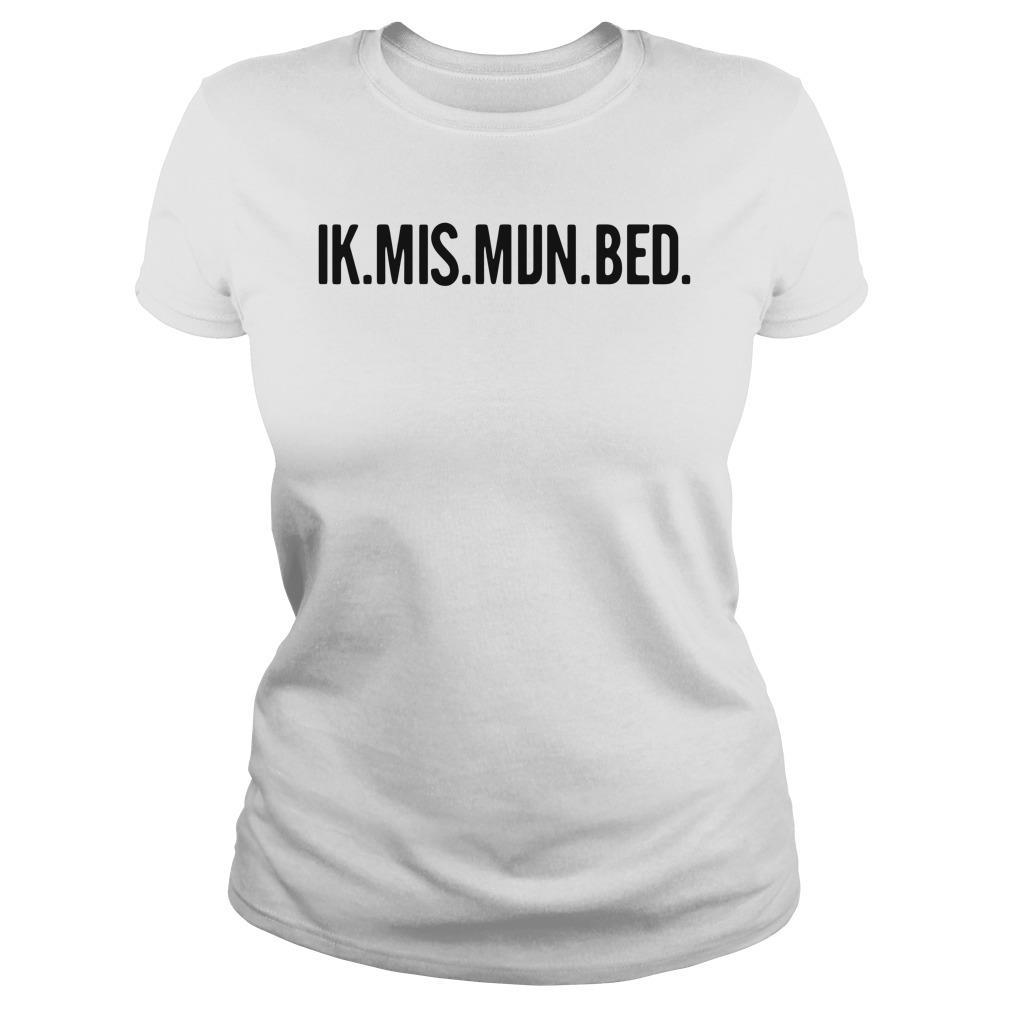 Ik Mis Mijn Bed Shirt ladies tee