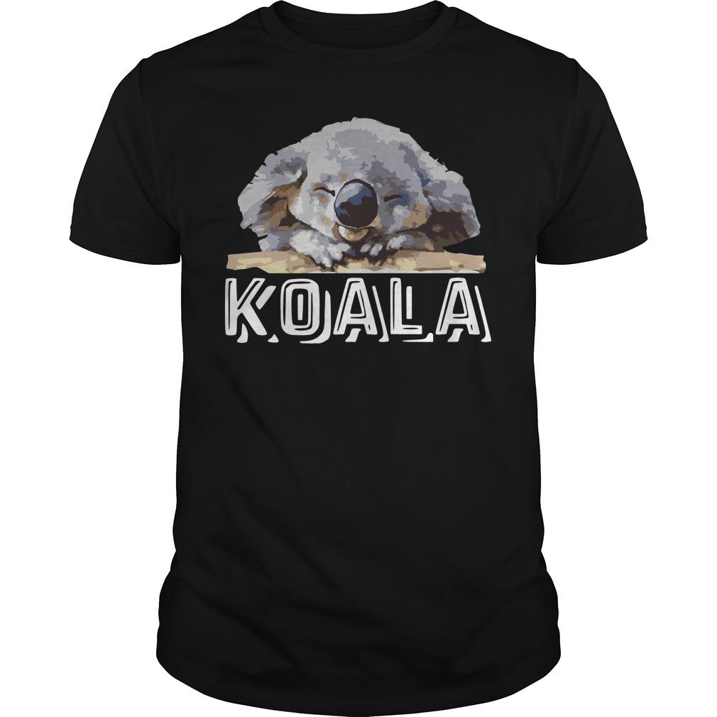 Koala Australia Fire Shirt