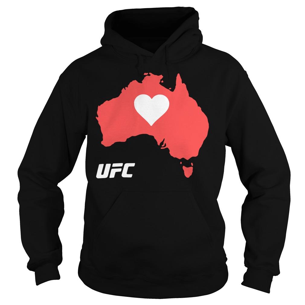 UFC Supports Australia Shirt hoodie