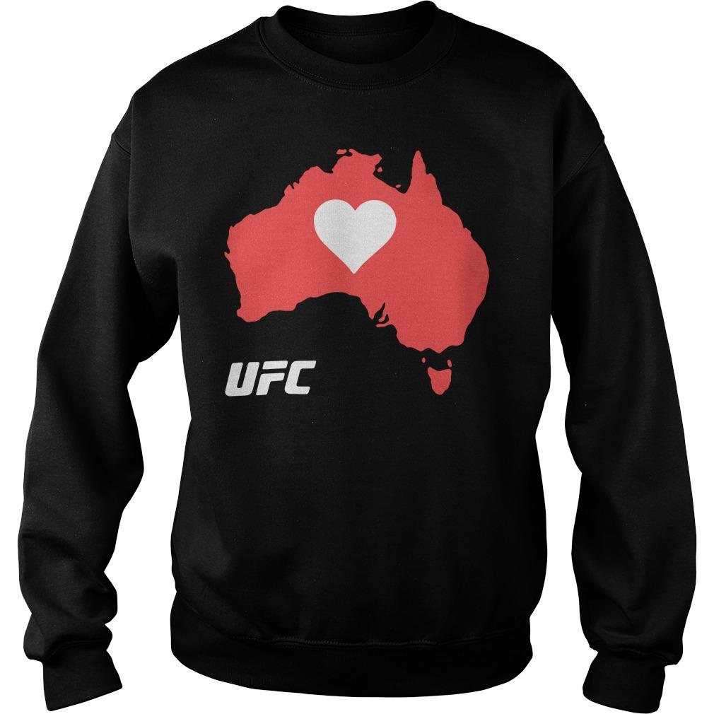 UFC Supports Australia Shirt sweater