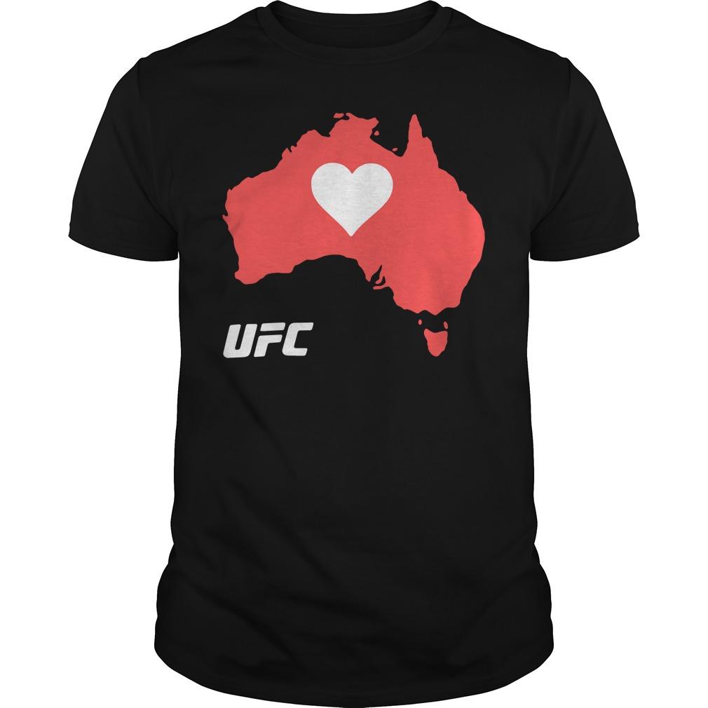UFC Supports Australia Shirt