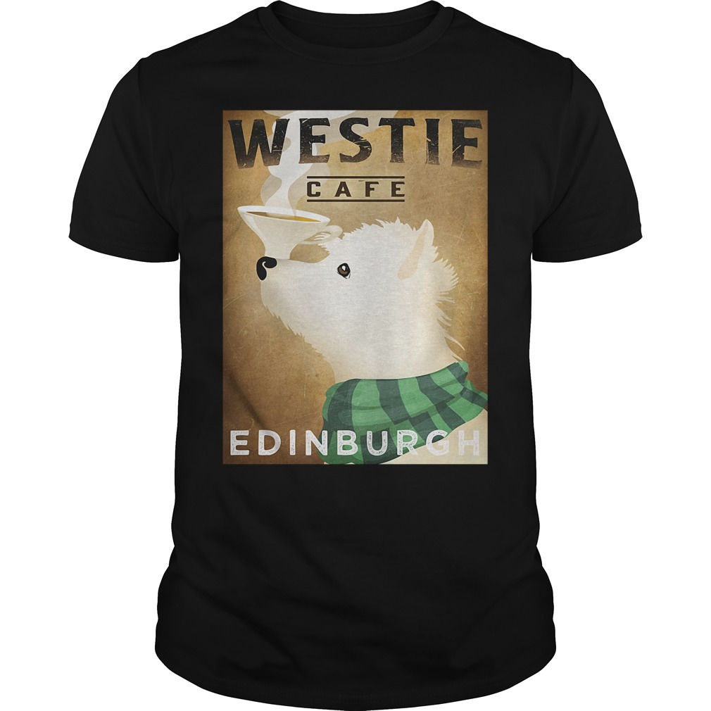 Westie Cafe Edinburgh Shirt