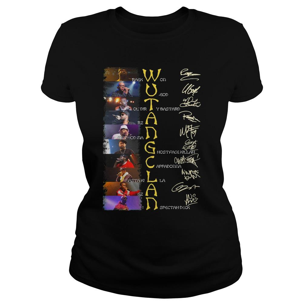 Wu Tang Clan Shirt ladies tee