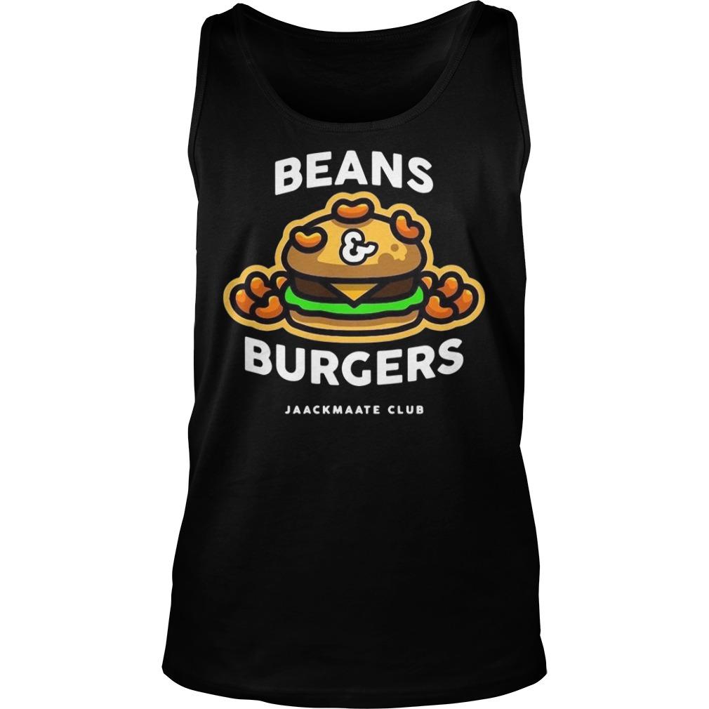Beans Burgers Jaackmaate Club Shirt tank top
