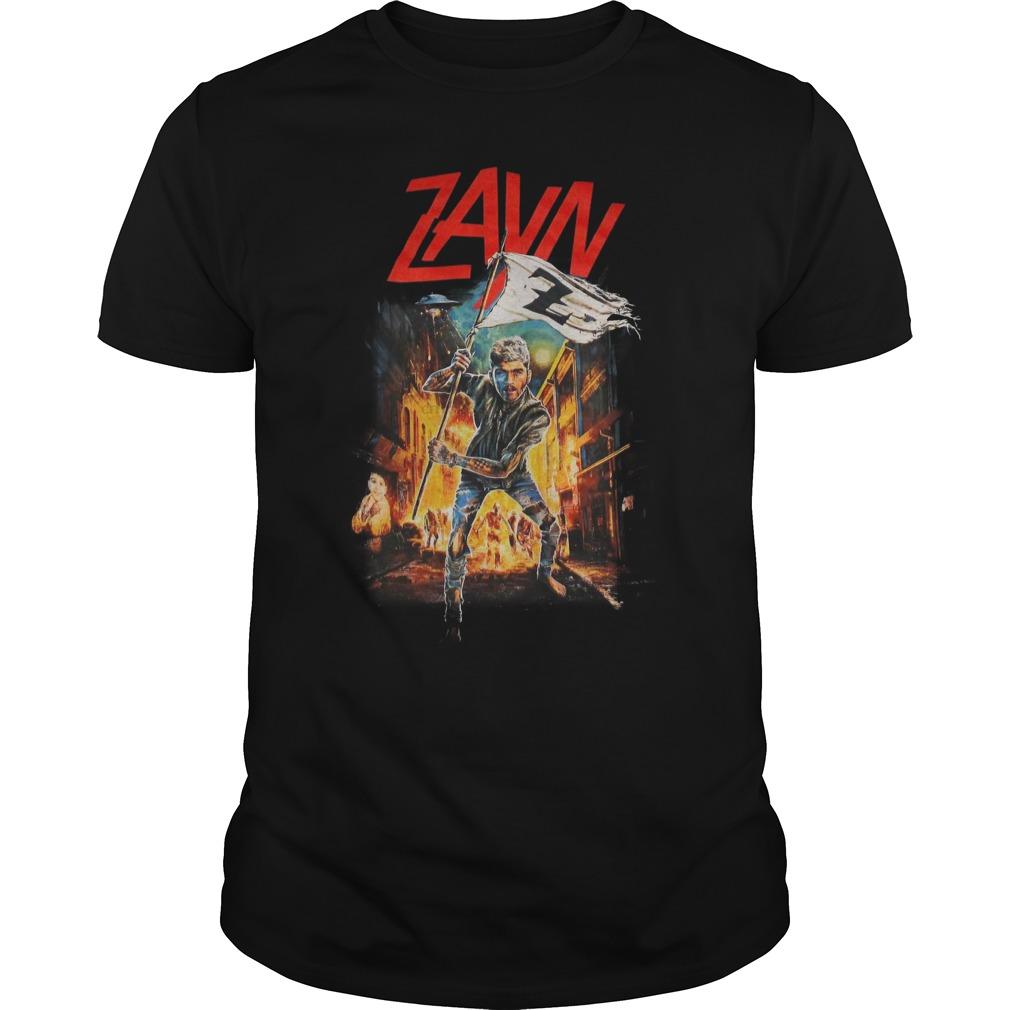 Black Zayn Malik Zombies Shirt