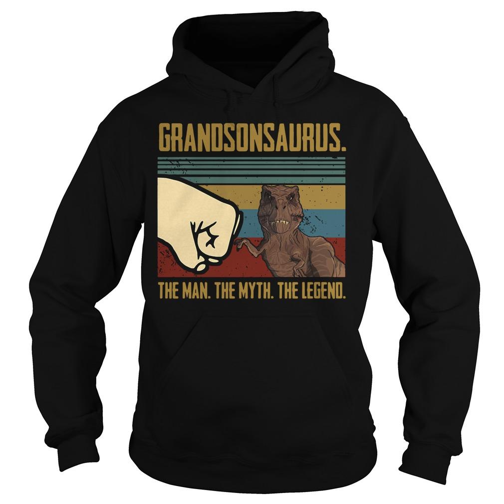 Grandson Saurus The Man The Myth The Legend Shirt hoodie