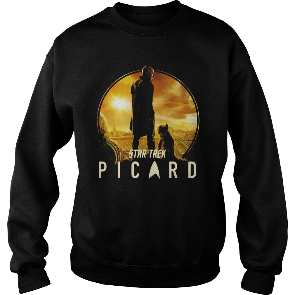 Picard and Number One Star Trek Shirt sweater