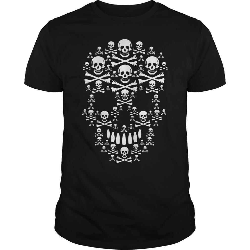 Skull Made Of Skulls Shirt