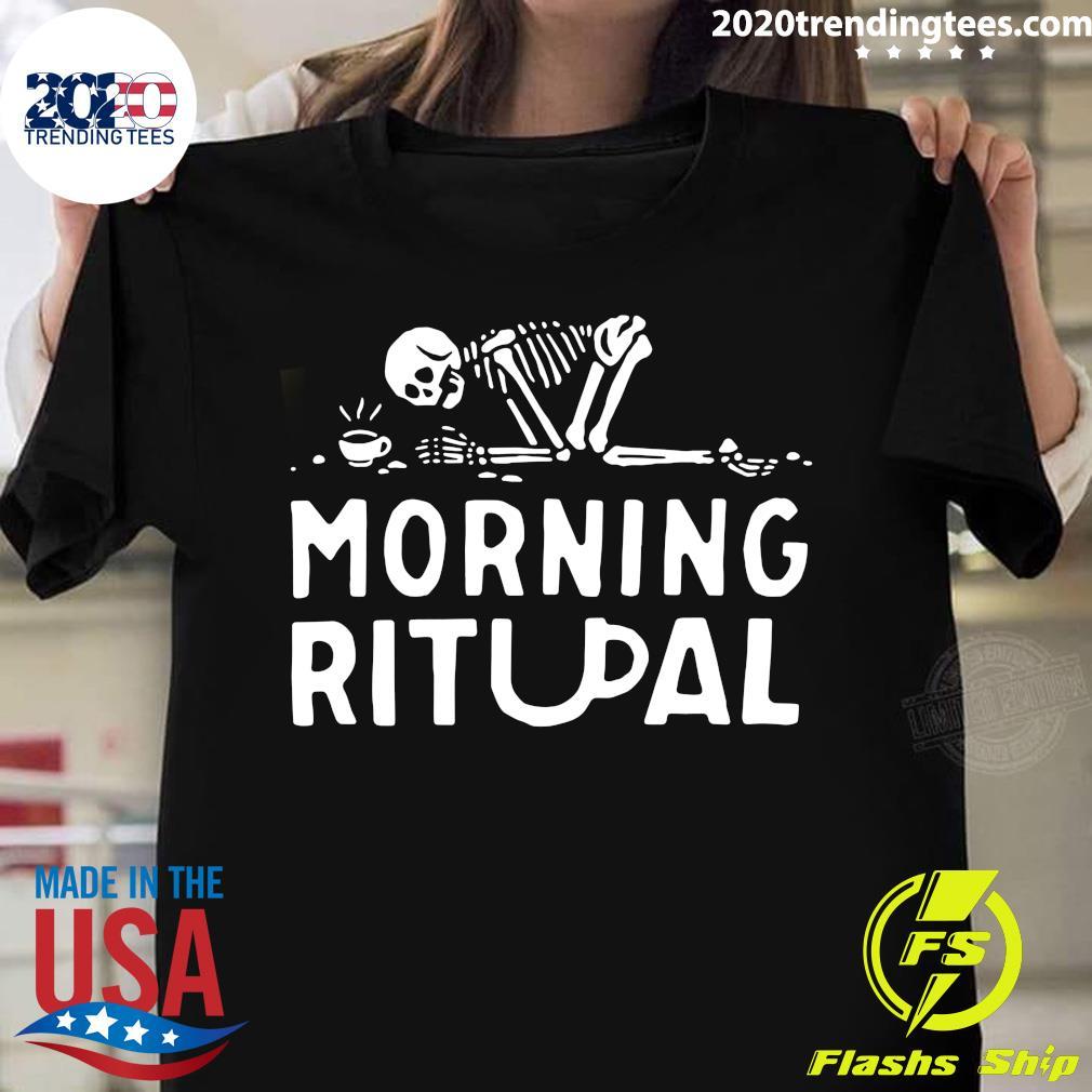 Coffee Skull Morning Ritual Shirt
