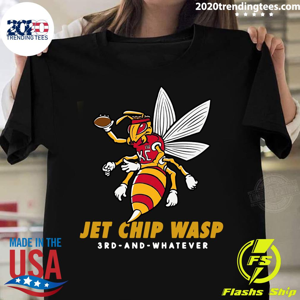 Jet Chip Wasp 3rd And Whatever Shirt