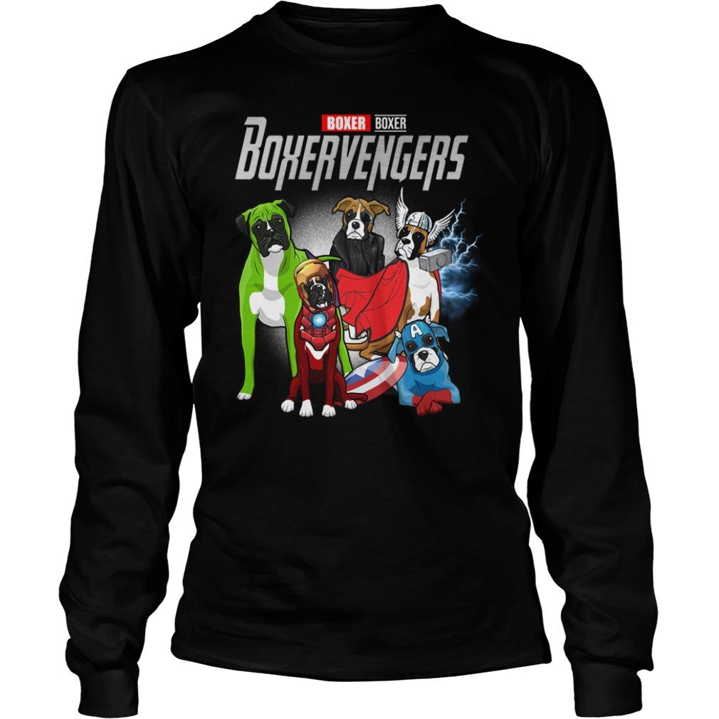 Official Boxer Boxervengers Longsleeve Shirt
