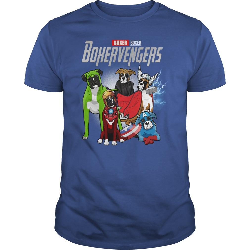 Official Boxer Boxervengers Guys Shirt