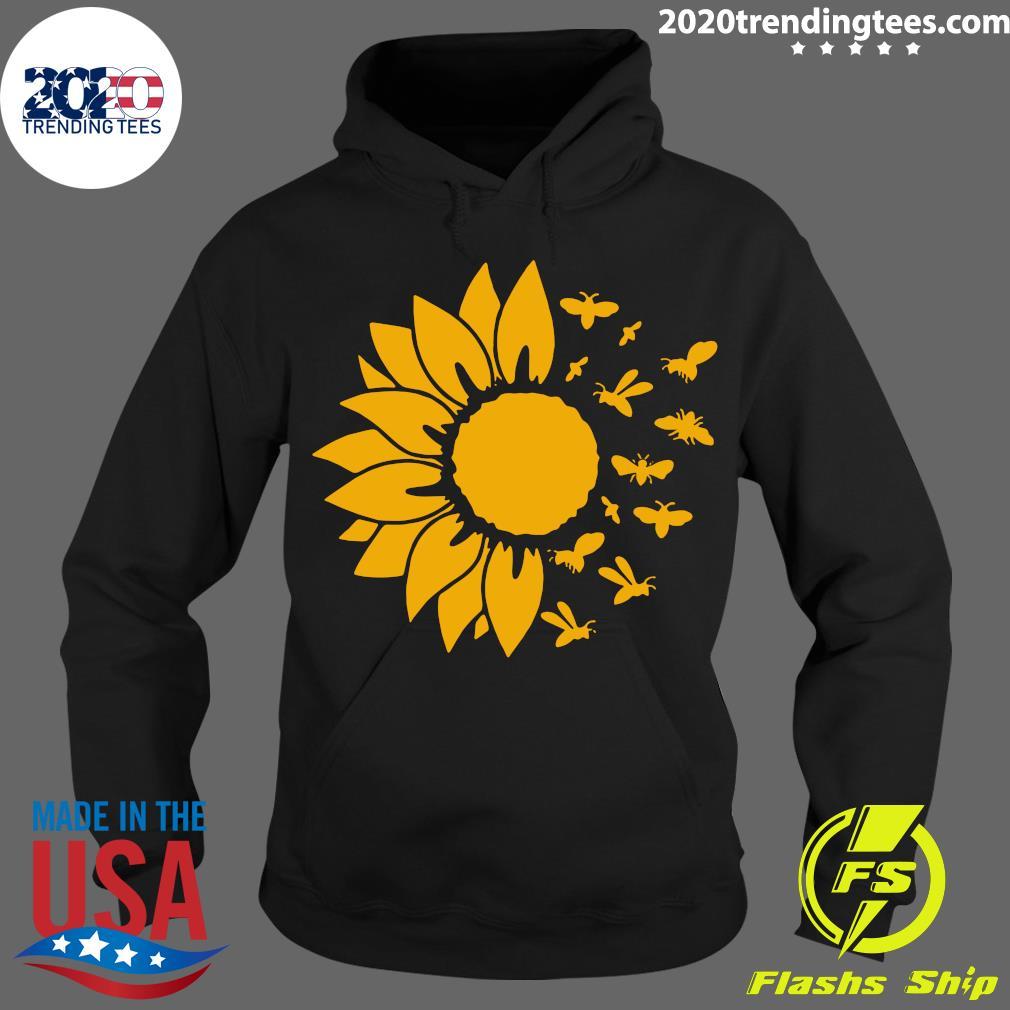 Official Sunflower Bee Shirt Hoodie