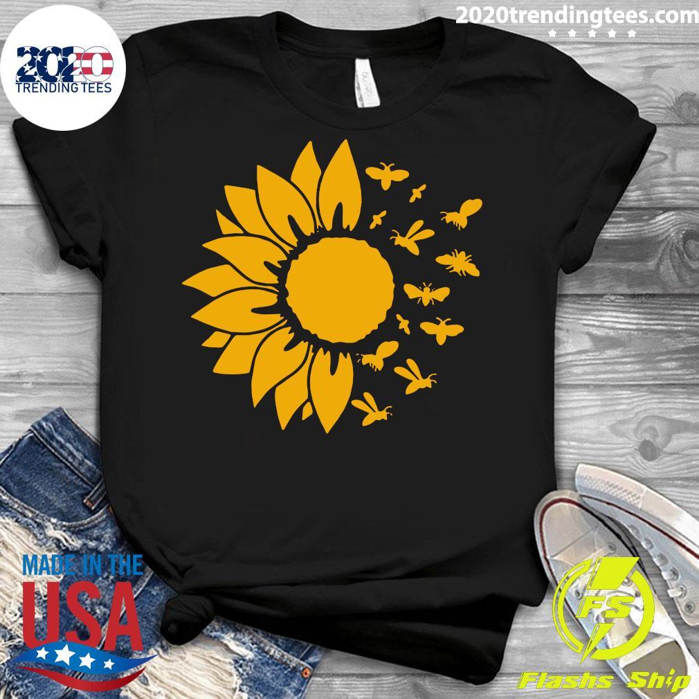 Official Sunflower Bee Shirt Ladies tee