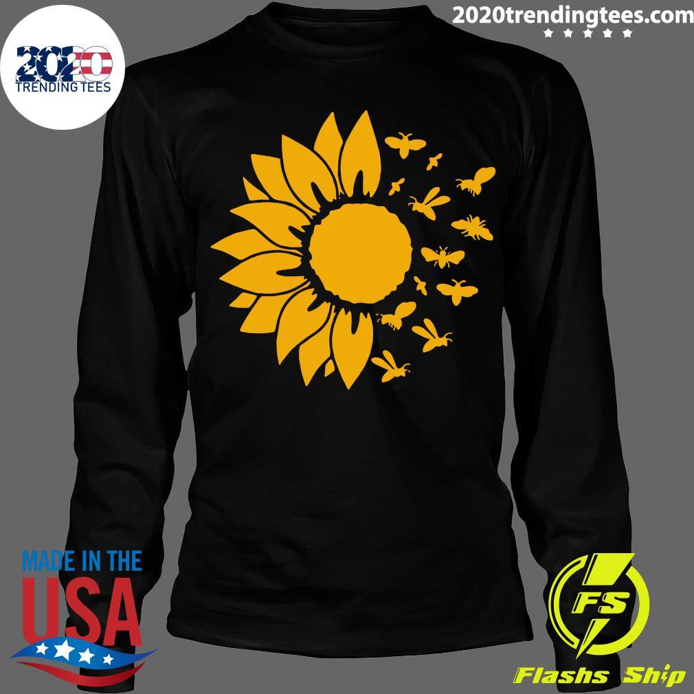 Official Sunflower Bee Shirt Longsleeve