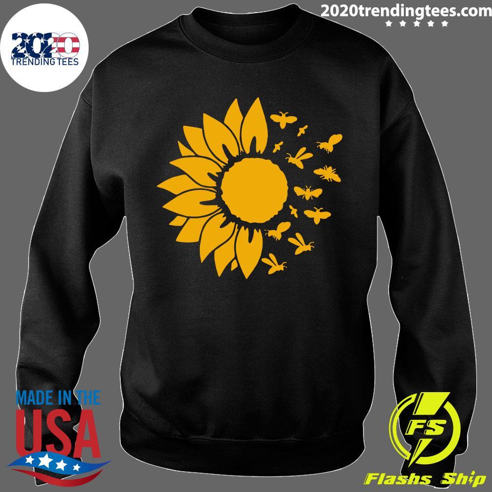 Official Sunflower Bee Shirt Sweater