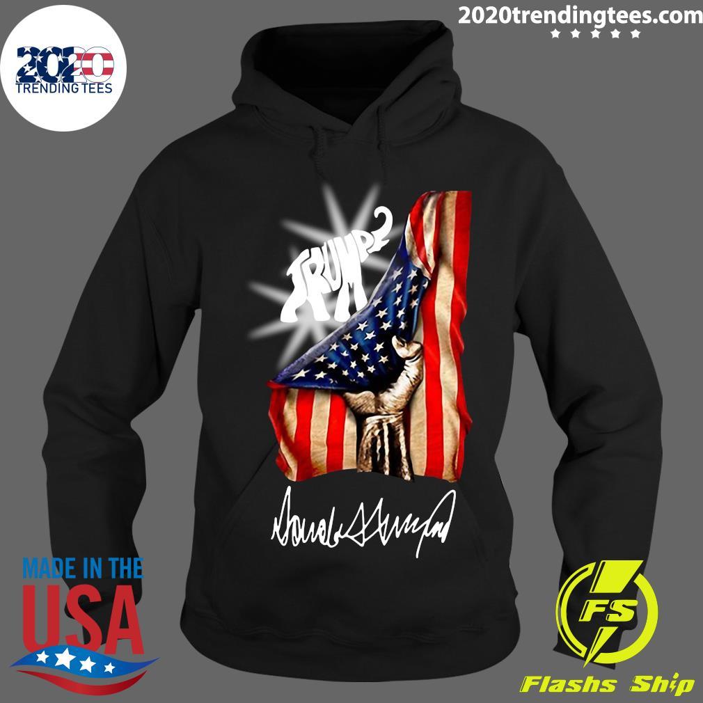 Trump Elephant American Flag Shirt Hoodie