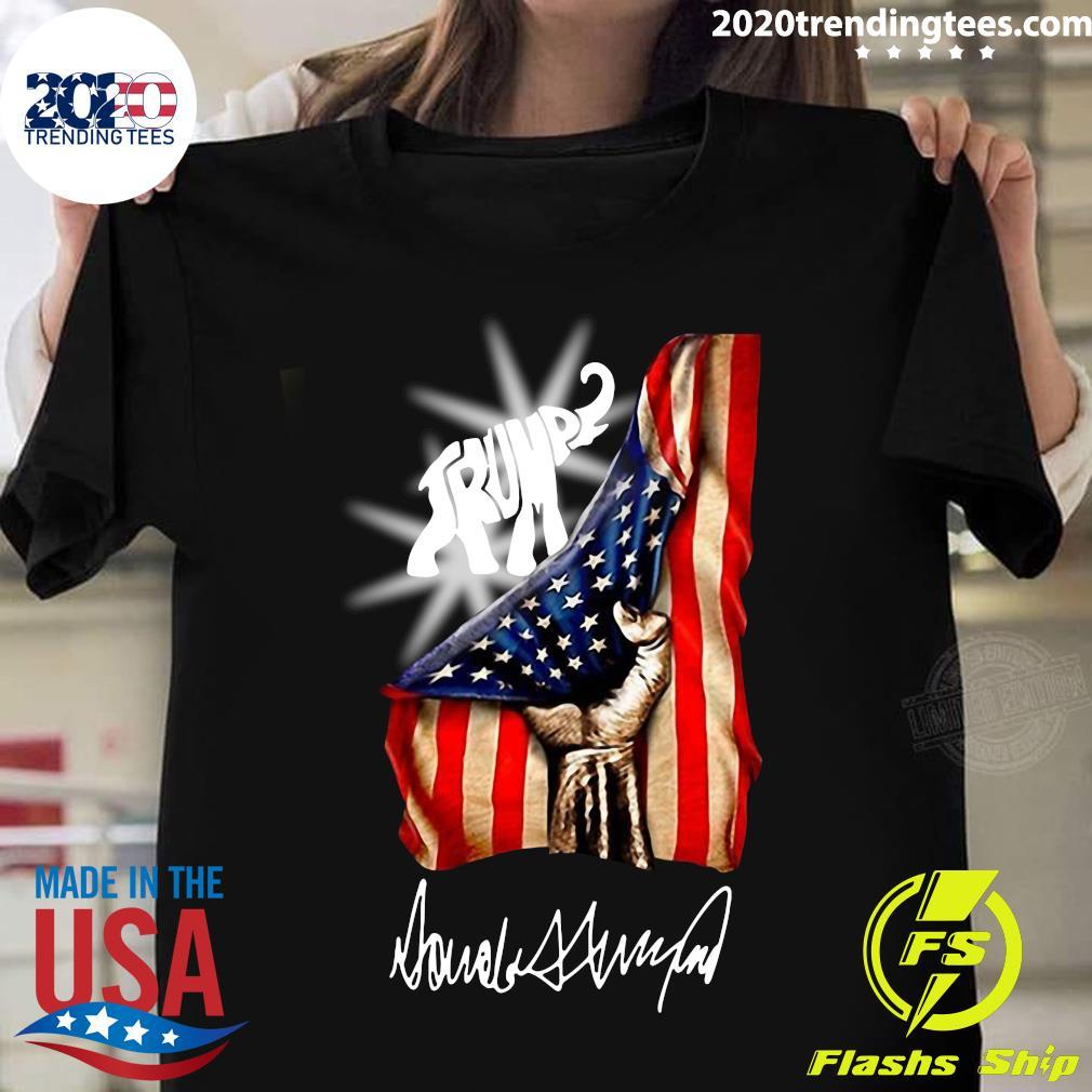 Trump Elephant American Flag Shirt