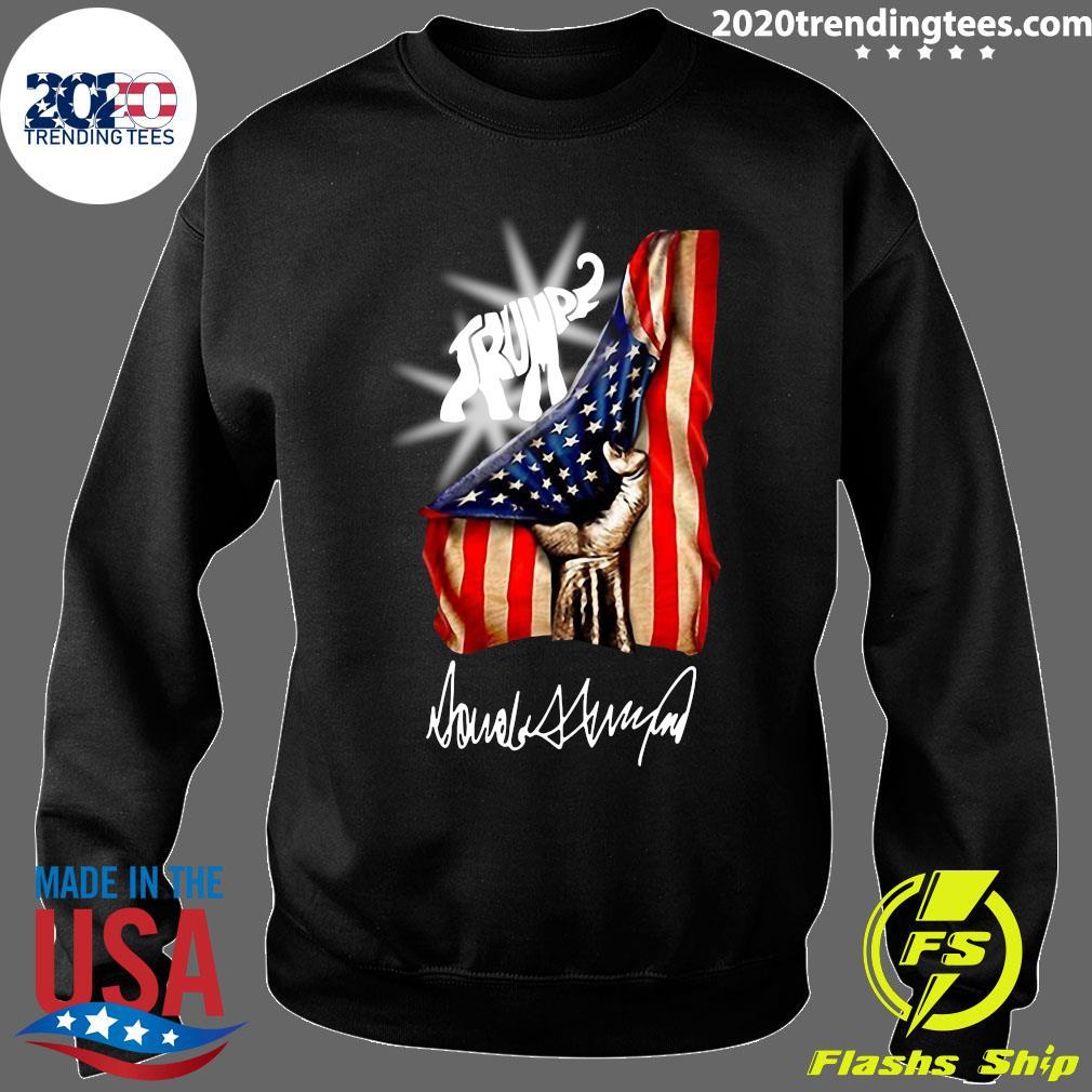 Trump Elephant American Flag Shirt Sweater