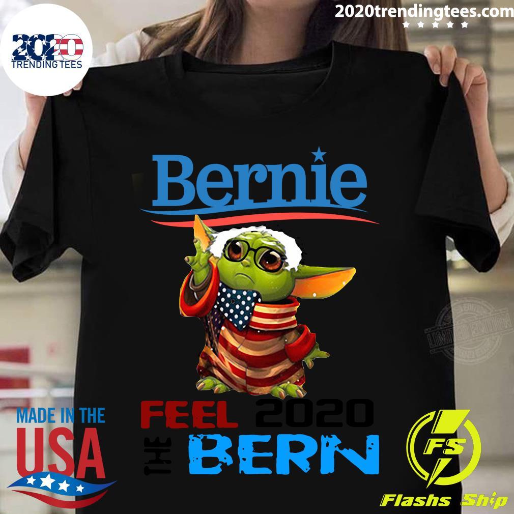 Baby Yoda For Bernie Sanders 2020 Shirt