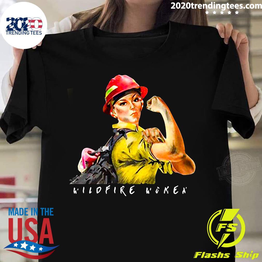 Celebrating Women of Wildland Fire Shirt