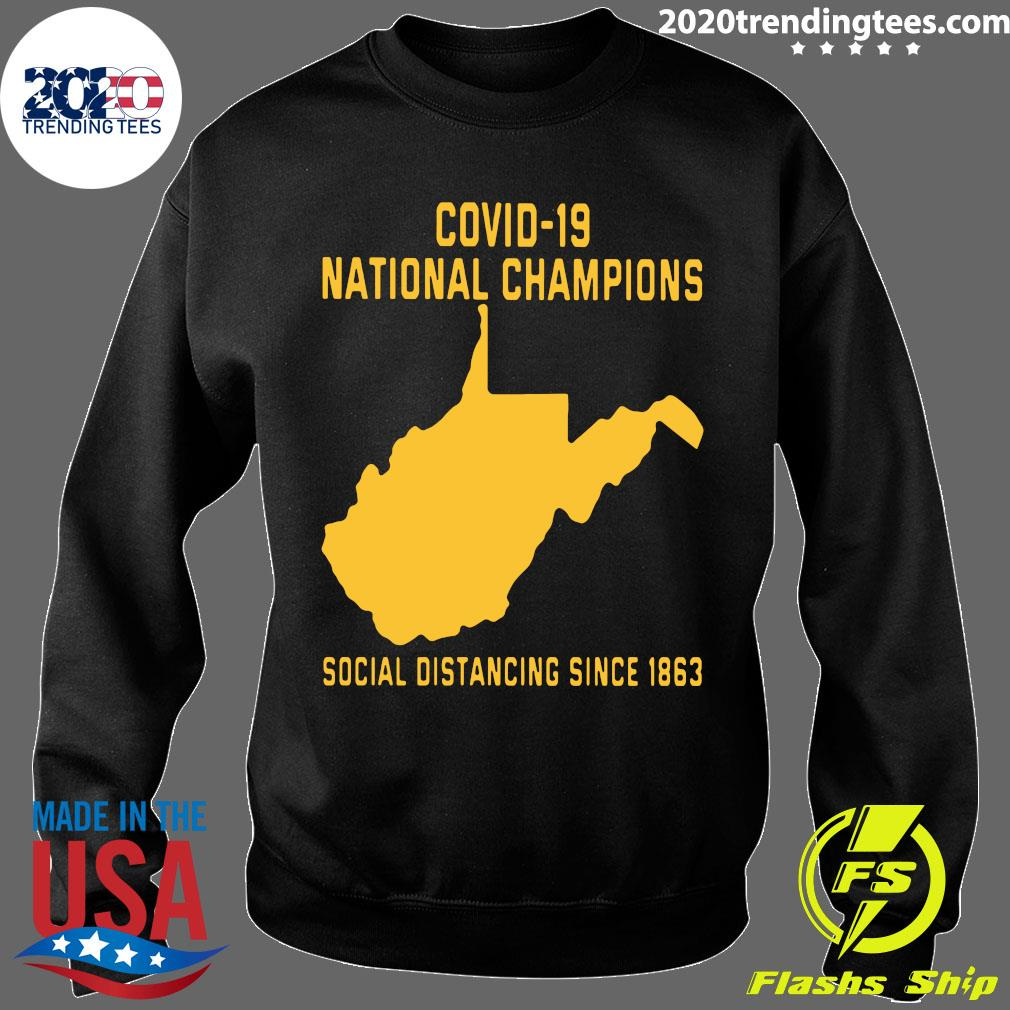 Covid 19 National Champions Social Distancing Since 1863 Shirt Sweater
