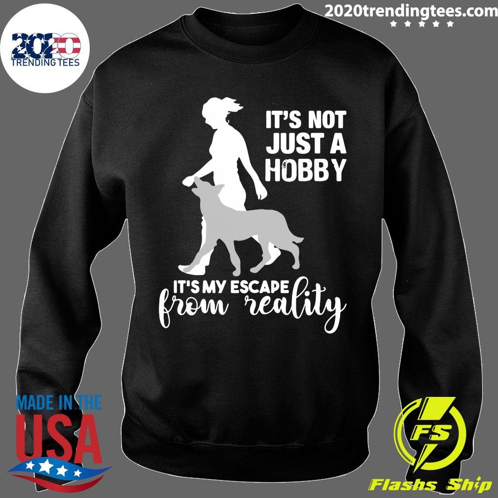 It's Not Just A Hobby It's My Escape From Reality Shirt Sweater