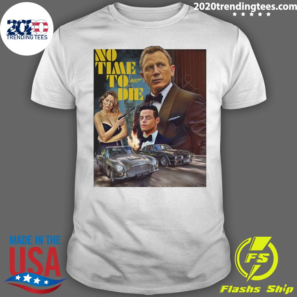 No Time To Die 007 Poster Shirt