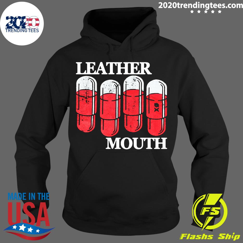 Official Leather Mouth Shirt Hoodie