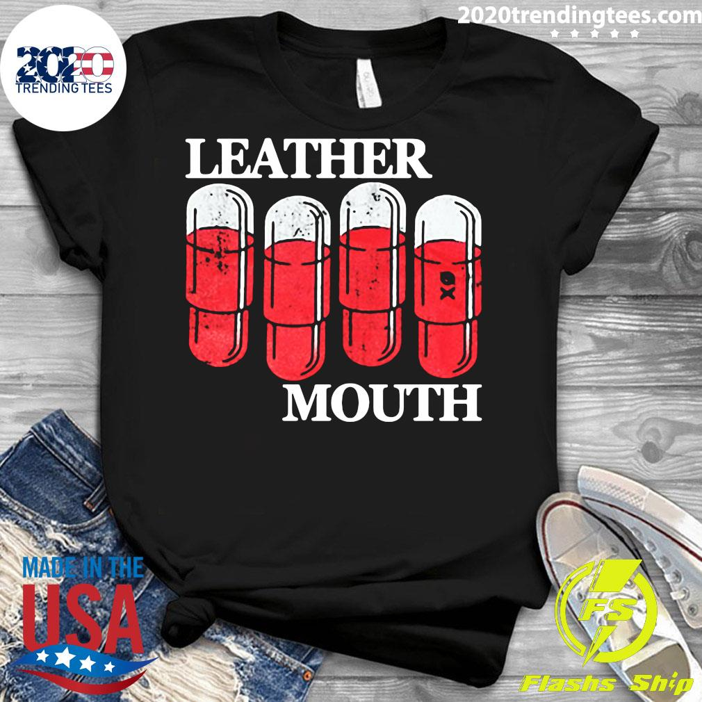 Official Leather Mouth Shirt Ladies tee