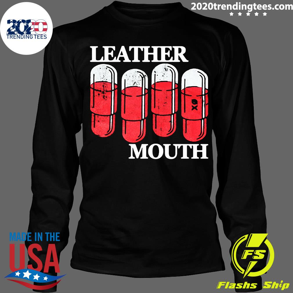 Official Leather Mouth Shirt Longsleeve