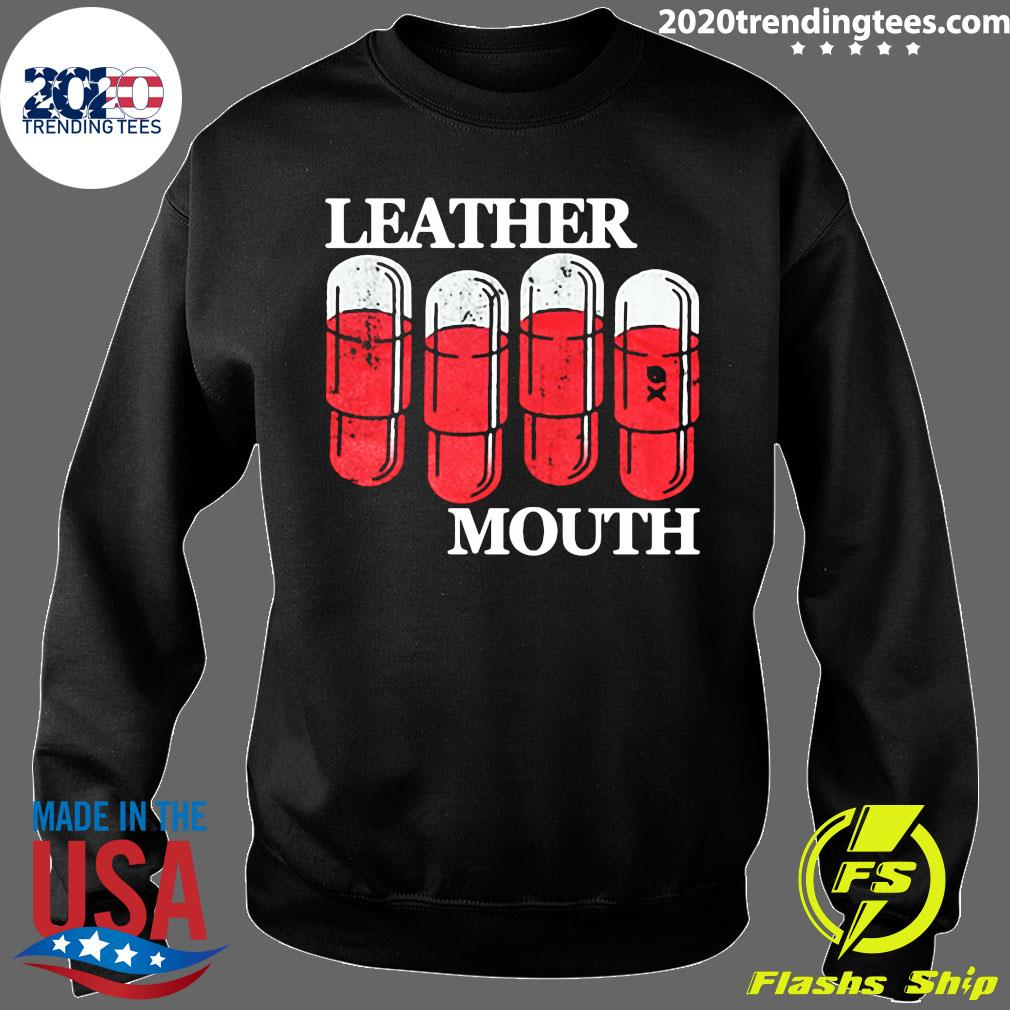 Official Leather Mouth Shirt Sweater