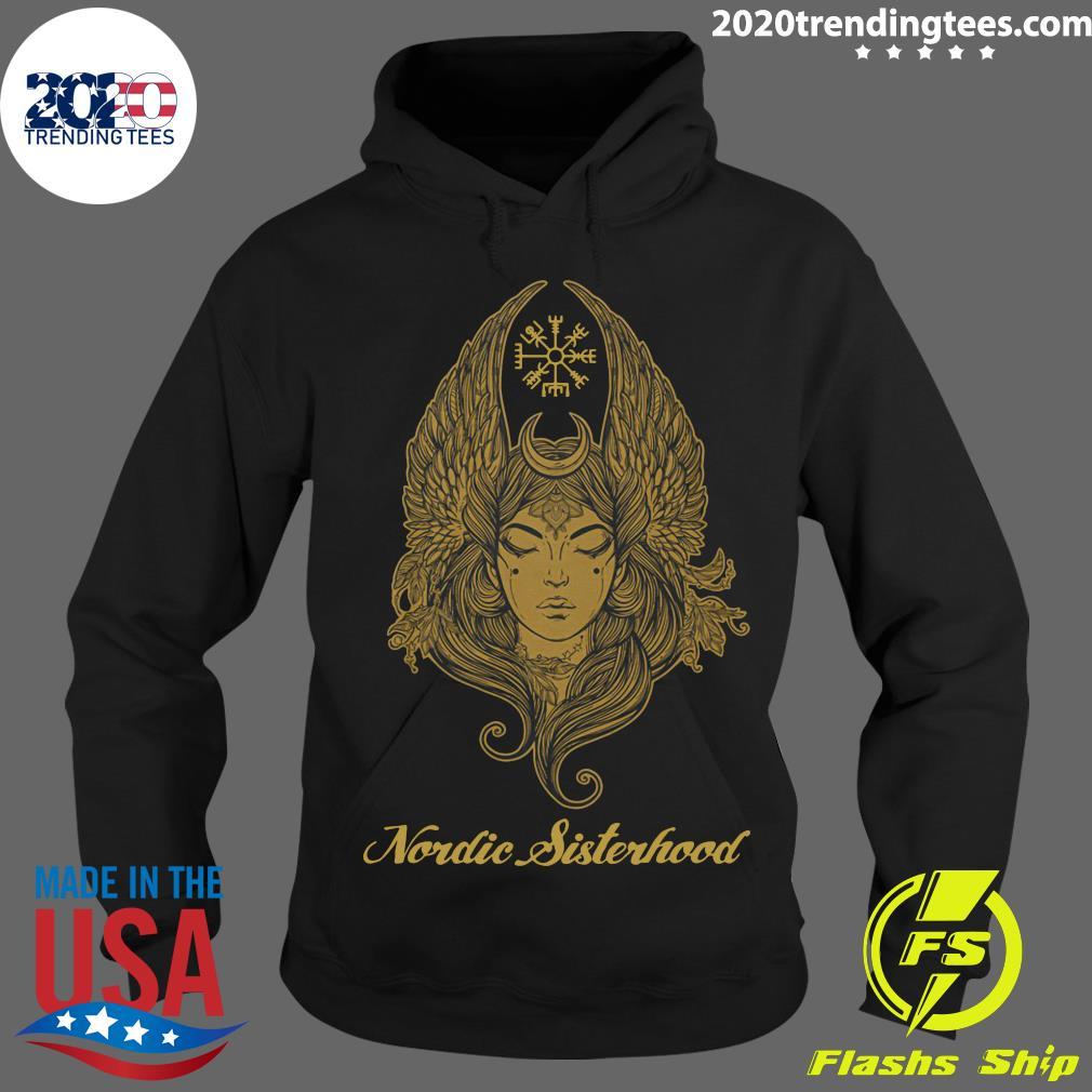 Official Nordic Sisterhood Shirt Hoodie