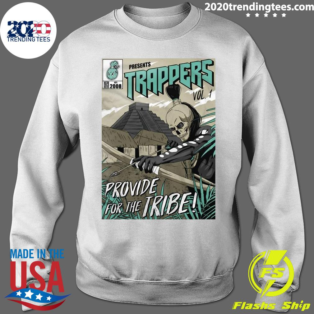 Trappers Comic Vol 1 Island Green On Black Shirt Sweater