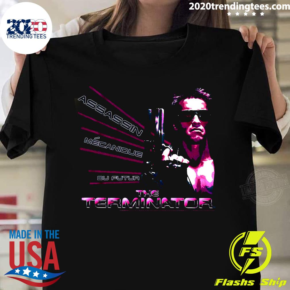 American Assassin Mecanique Du Futur The Terminator Shirt