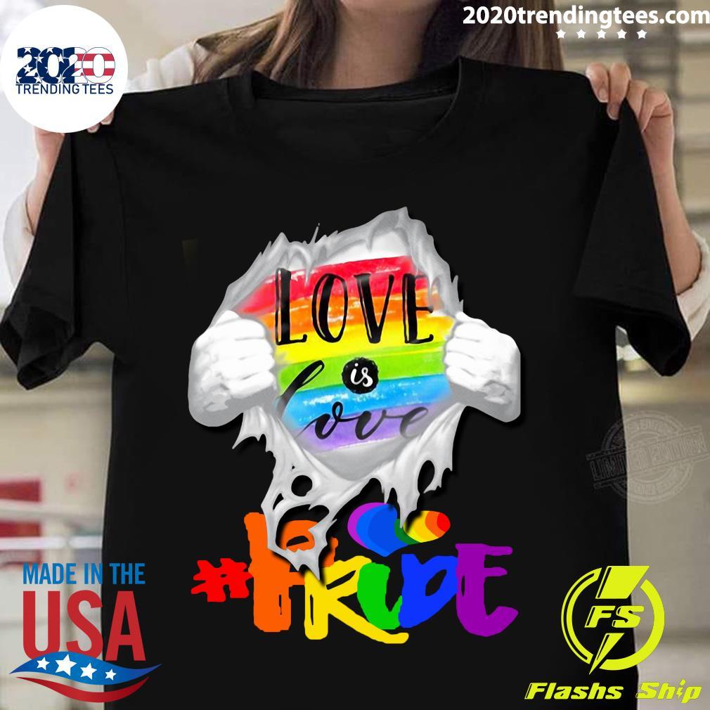 LGBT Love Is Love PRIDE Shirt