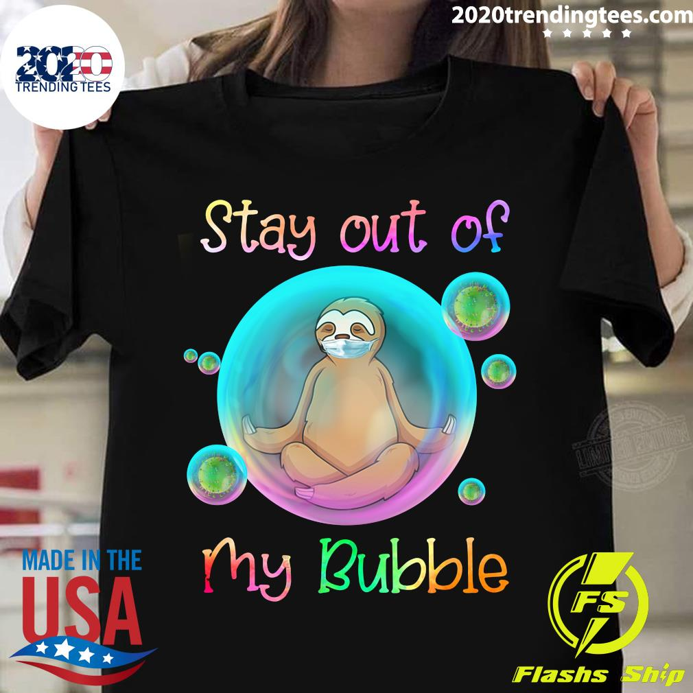 Monkey Stay Out Of My Bubble Shirt