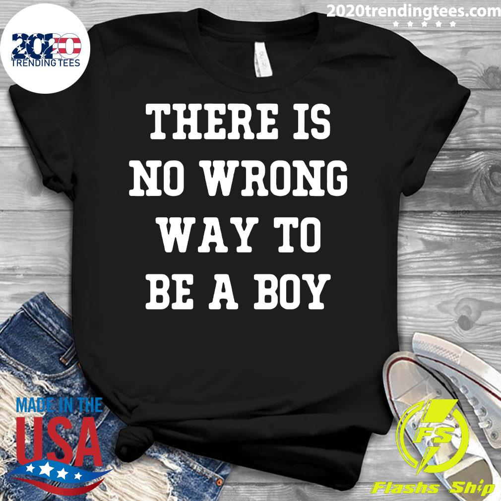 There is No Wrong Way to be a Boy unisex youth tee