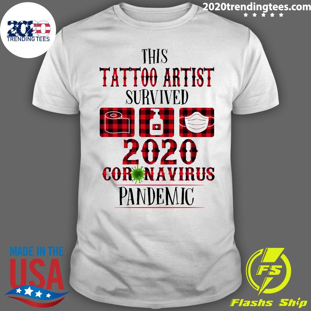 This Tattoo Artist Survived Shirt