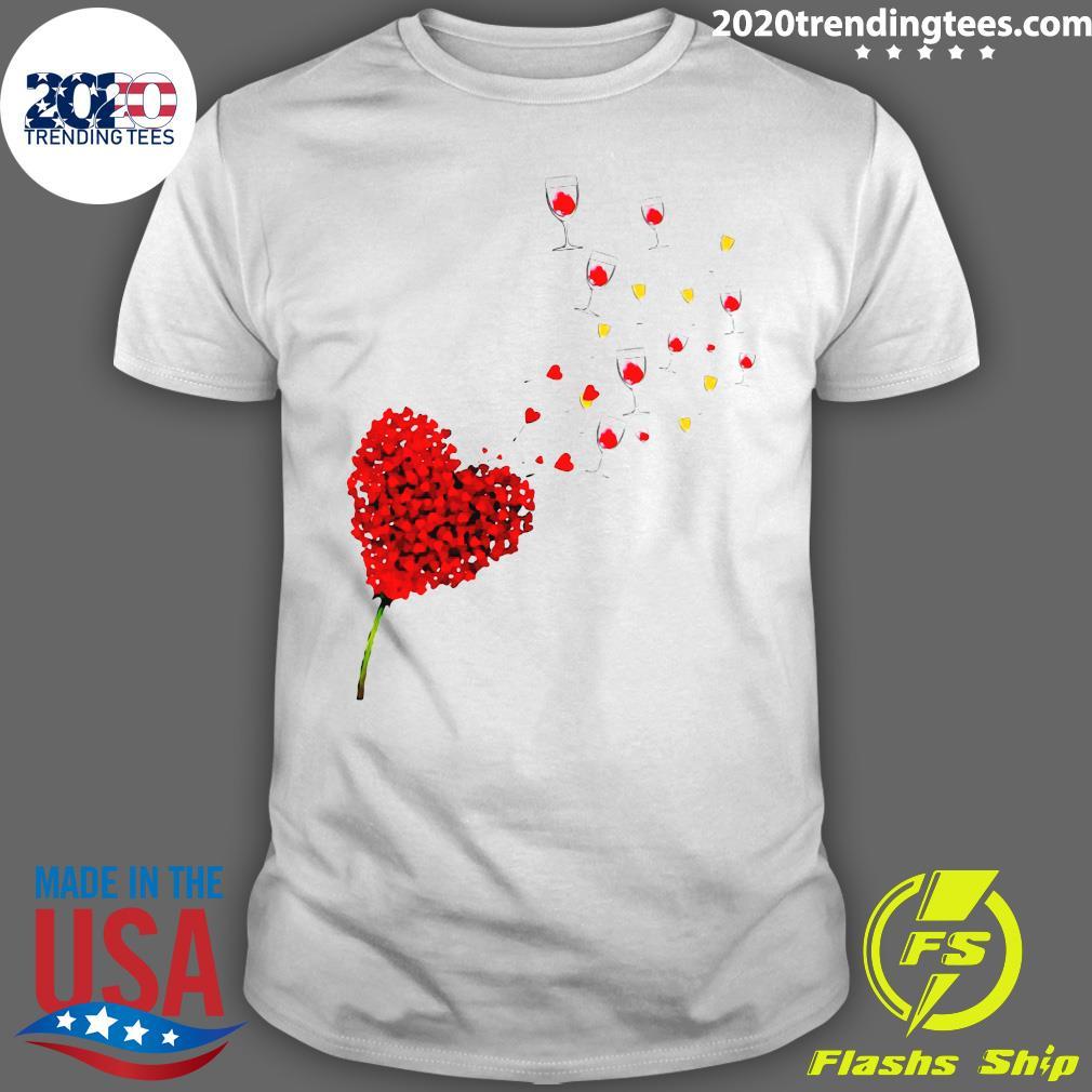 Wine Heart Shirt