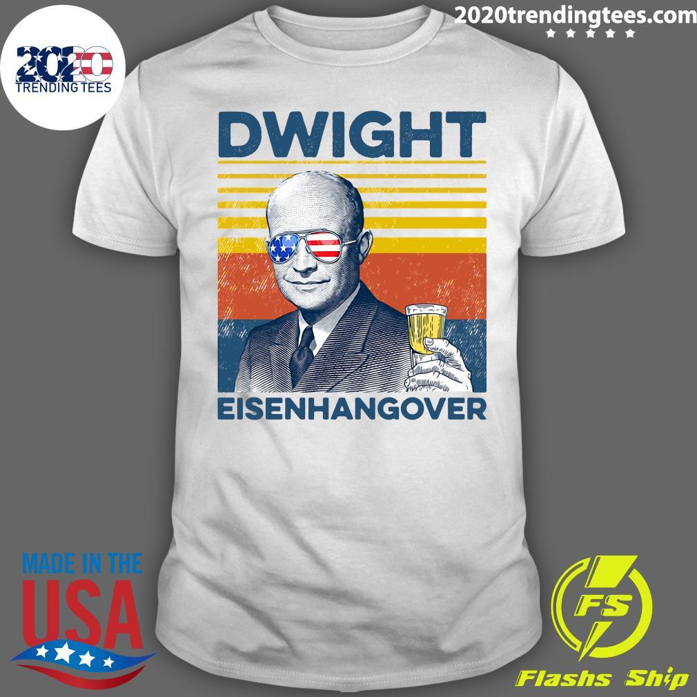 Beer Dwight Eisenhangover Shirt