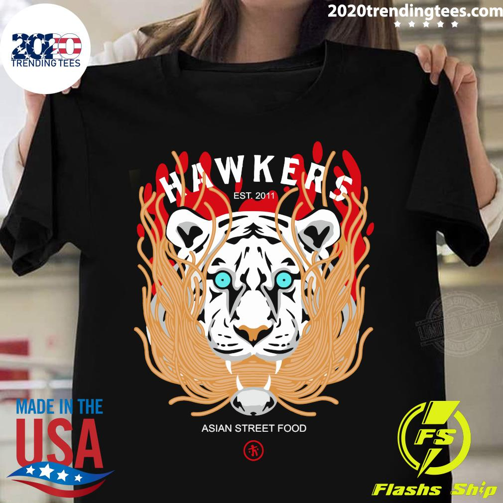 Hawkers Noodle Tiger Shirt