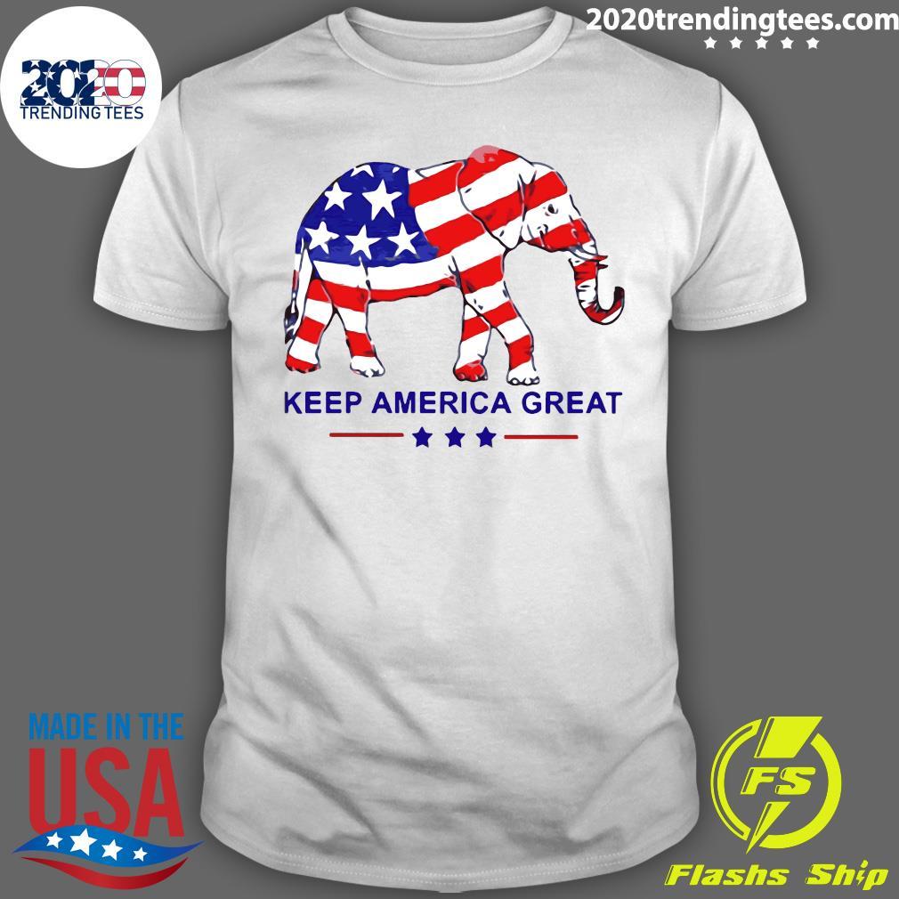 Keep America Great Memorial Day Shirt